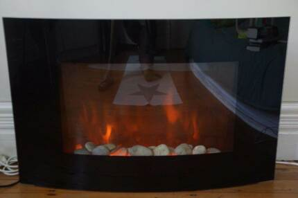 Modern electric Heater with fireplace effects 2000 W ARLEC Mosman Mosman Area Preview
