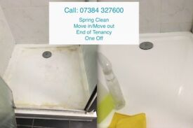Cleaning available - Spring Clean, Mini Deep clean, End of Tenancy,