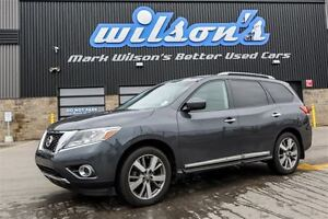 2013 Nissan Pathfinder PLATINUM! 4WD! 7 PASS! NAVIGATION! POWER