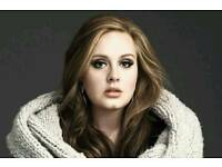 Adele at Wembley Wed 28th June seating