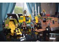 Teenage Mutant Ninja Turtles Vehicles and Figures
