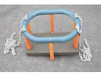 Baby / Child / Kids Outdoor Swing Seat with Galvanised Chains - Heavy Duty Commercial Style