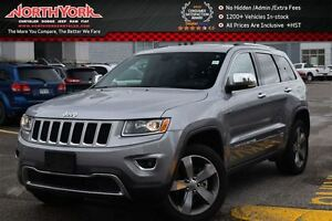 2016 Jeep Grand Cherokee Limited 4x4|Nav|Sunroof|Leather|HTD Sea