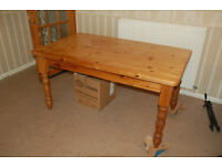 Table. Strong. Could be used as workbench