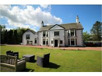 Six Bedroom Period Country Mansion House - Conservation Village |10 miles from Glasgow