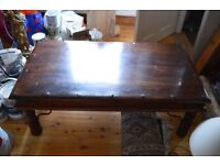 Solid Wood Coffee Table Excellent Condition