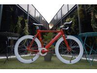 "Brand new NOLOGO ""X"" TYPE single speed fixed gear fixie bike/ road bike/ bicycles + 1year warranty v"