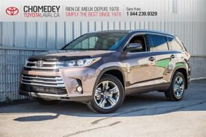 2018 Toyota Highlander LIMITED 7 PASS CUIR TOIT MAGS GPS FULL Li