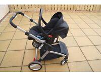 Pram & Pushchair Travel System ( 3 in 1) - Mothercare