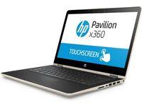 HP Pavilion x360 Core i5-7200U ( 7th gen) 8GB RAM 256GB SSD Full HD touch