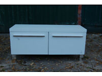 2 door unit / TV unit / White / Living room furniture