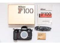 Nikon F100 - Immaculate, Like New