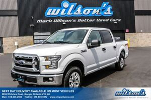 2016 Ford F-150 XLT SUPER CREW! REAR CAMERA! TRAILER+TOW PACKAGE