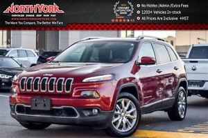 2016 Jeep Cherokee Limited SafetyTec,Luxury,Technology Pkg.|Nav|