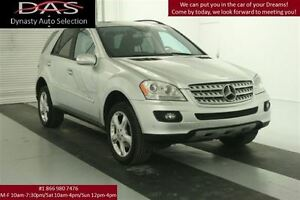 2007 Mercedes-Benz M-Class ML350 LEATHER/SUNROOF/LOADED