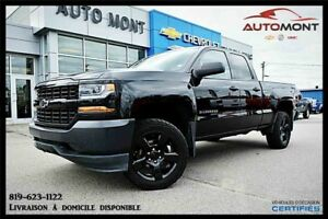 2016 CHEVROLET SILVERADO 1500 4WD DOUBLE CAB BLACK OUT / V8 5.3L
