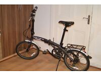 Carrera Intercity Folding Bike - Grey. In great condition!!!
