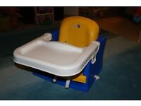 K & D Kids Booster Seat / travel high chair