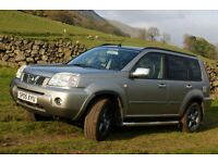 2005 Nissan Xtrail 2.2 dci (136ps) SVE, *12 MONTHS MOT* Leather, £2750ono