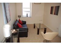 Two bedroom first floor flat, fully furnished with entry system