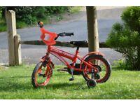Child's Ferrari bicycle