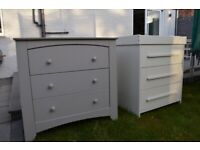 Mamas and Papas kids beds with matching drawers/dressing table