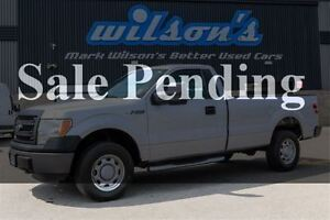 2014 Ford F-150 XL 4WD! NEW BRAKES! LONG BOX! RUNNING BOARDS! $9