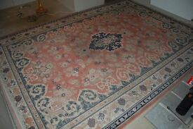 Beautiful 3m x 4.2m Super Keshan Hand-knotted Pure Wool Rug