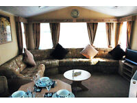Luxury 8 berth static caravan for hire at Butlins, DVD TVs all rooms,xbox 360, wash mach, dryer etc