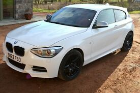 BMW M135i - 2013 - 19k, manual, Alpine white, coral leather, FBMWSH, free servicing till Nov 2018