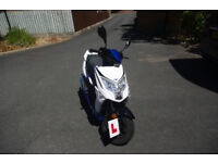 Lexmoto Echo 50cc moped 2017 One Owner
