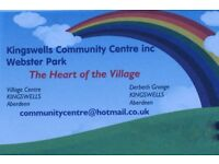 Kingswells Community Centre Manager