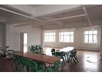 1,400 – 2,800 sq. ft. (NIA. approx.) Office/studio unit/s within a period warehouse building.