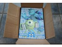 Monsters Inc A5 Note Pads Job Lot