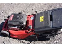 lawnmower lawnflite rotary mower with grassbox model 911sp6