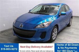2012 Mazda MAZDA3 GX SEDAN w/ 17,000KM! POWER PACKAGE! CRUISE CO