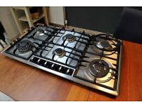 Neff Gas Hob 6 Burner in Stainless Steel