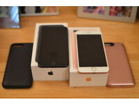 iPhone 7 Plus - Rose Gold / Matt Black - 256GB Sim Free (Purchased from John Lewis)