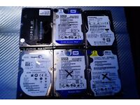 6 x various hard drives