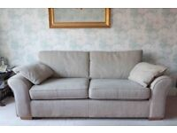 Next Garda large 3 seater sofa and 2 seater Snuggle chair . Doncaster