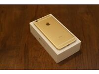 iPhone 6 - Gold - Grade A condition - sim free any network - complete with accessories