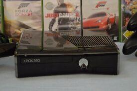 Xbox 360 connect (250 gig) plus games bundle.