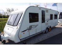 2010 Elddis Crusader Super Cyclone - excellent condition, luxury 4 berth twin axle tourer