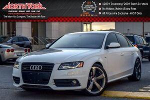 2011 Audi A4 2.0T Premium Quattro|S-Line|Sunroof|Sat Radio|Blue