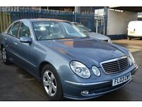 2003 Mercedes Benz E CLASS AVANTGARDE AUTO IN GOOD CONDITION MOT UNTIL 2018 JANUARY