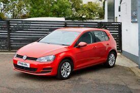 2013 VW GOLF MK7 1.6 TDI SE BMT £0 TAX BIG MPG FSH 2 KEYS 1 OWNER NOT LEON A3 FOCUS ASTRA