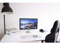 "iMac 5k - 27"", 4GHz i7 CPU, 32GB RAM, AMD Radeon R9 M295X 4GB GPU, 256GB flash storage"