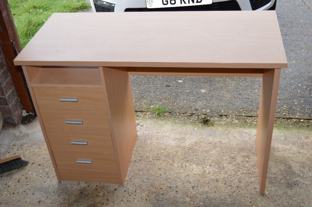 Small Compact Desk Dressing Table