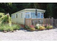 Holiday mobile Home near Looe, Cornwall. Sleeps up to 6 in woodland setting, prices from £270