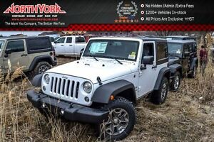2017 Jeep Wrangler New Car Sport S|4x4|HrdTop|PwrCnvncePKG|LED|T